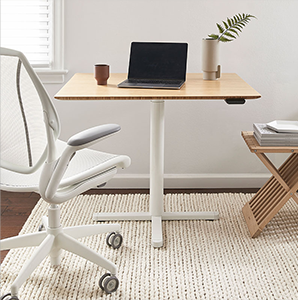 Image of work from home office space