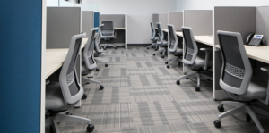 Individual cubicle work spaces